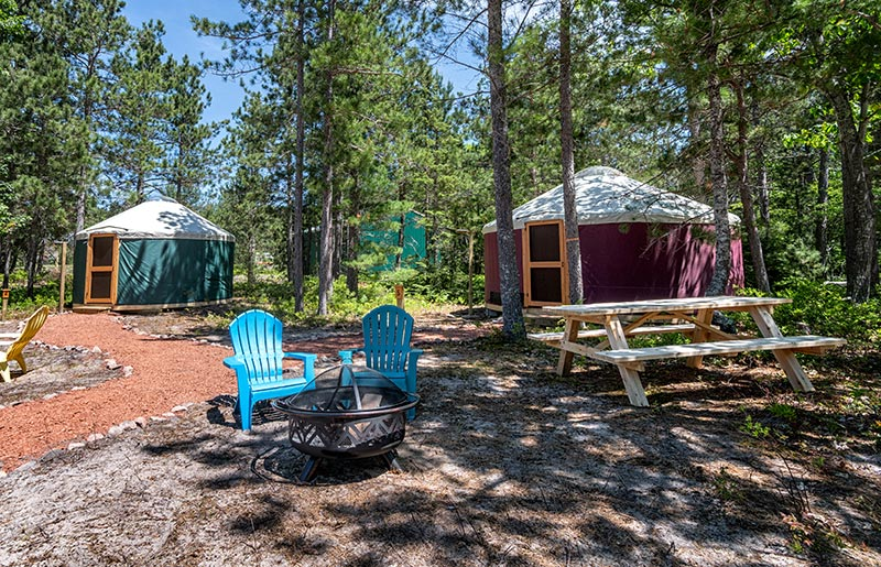 au-train-beach-yurts