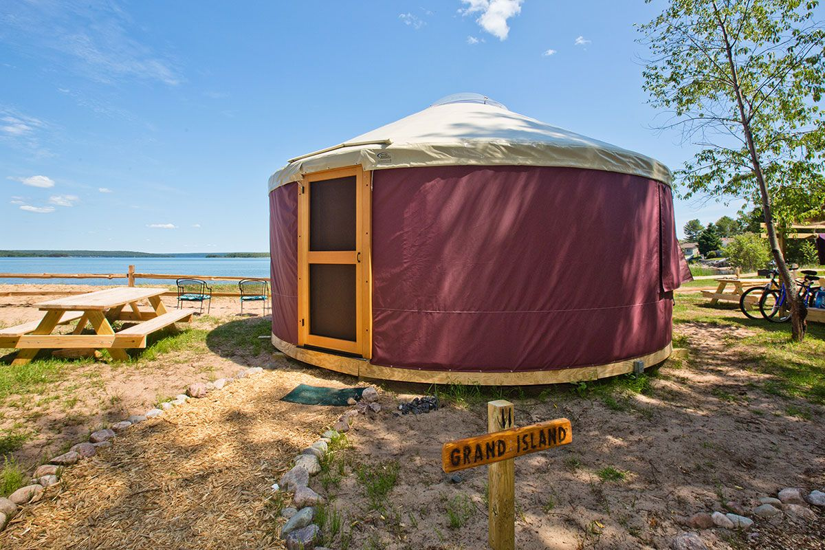 Pictured Rocks Vacation Cruise Package Paddling Michigan Yurts are growing in popularity for vacation rental sites such as airbnb and vrbo, offering increased revenue potential and an added attraction for guests. pictured rocks vacation cruise